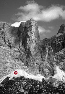 Diedro Sud Ovest, Fanis, Dolomiti - Vie ferrate, trekking su