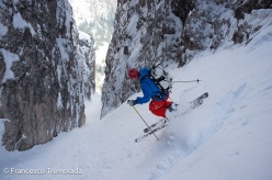 Sass Dlacia North Couloir