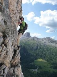 Via Ferrata Degli Alpini Col Dei Bos Fanis Dolomites