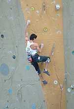 Puigblanque climbing