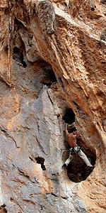 Kalymnos, arrampicata, Manolo