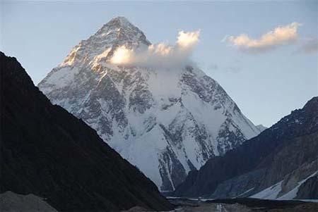 K2, spedizione Nives Meroi, Romano Benet, Mario Cedolin, Roberto Alloi