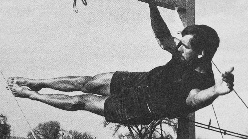 John Gill, the father of modern bouldering