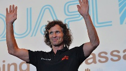 Stefan Glowacz - Arco Rock Legends Climbing Ambassador by Aquafil 2012