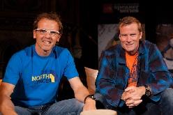 Conrad Anker e Simone Moro a Londra con il TNF Speaker Series 2012