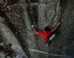Cristian Brenna Spirit Walker 8c Sasso Remenno, Val di Mello