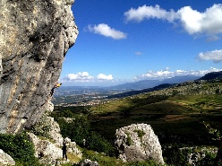 Frosolone e la grande bellezza dell'arrampicata in Molise