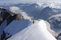 Ueli Steck e Michael Wohlleben e la salita del Piz Bernina