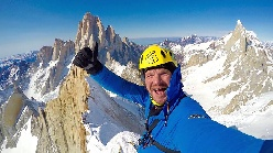 Markus Pucher solo winter ascent of Cerro Pollone in Patagonia